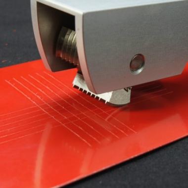 Тестер адгезии покрытий методом решетчатых надрезов TQC CC1000 - доступная цена