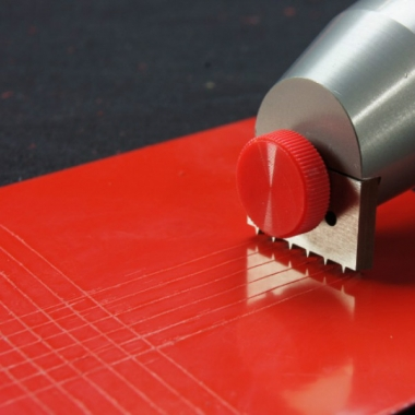 Тестер адгезии покрытий методом решетчатых надрезов TQC CC2000