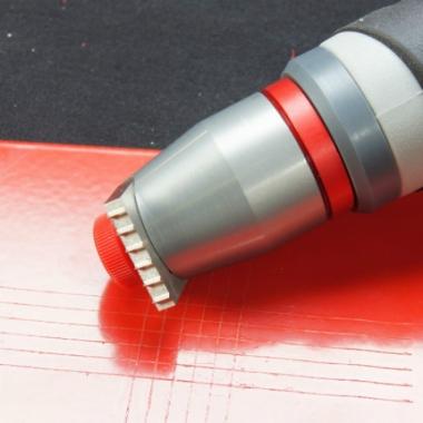 Тестер адгезии покрытий методом решетчатых надрезов TQC CC2000 - купить в Украине по доступной цене