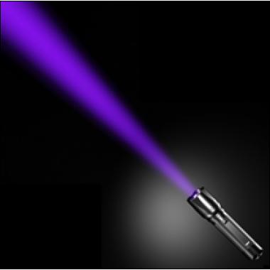 УФ фонарь для оптического контроля