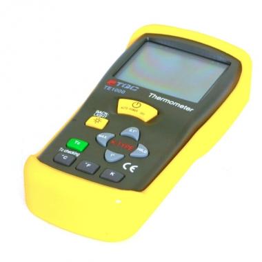 Цифровой термометр со сменными термопарами типа «К»TQC TE1000 - цена в Украине