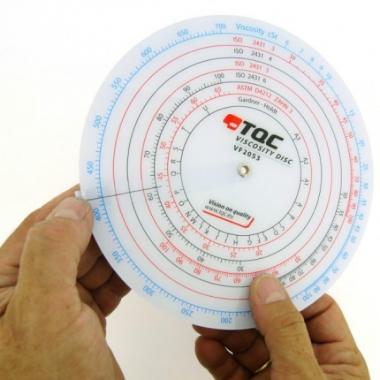 Диск для пересчета вязкости TQC VF2053 - доступная цена