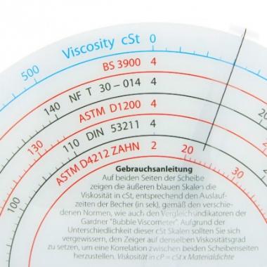 Диск для пересчета вязкости TQC VF2053 - купить в Украине