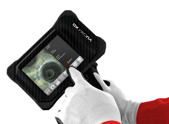 Сенсорный экран и удобный пользовательский интерфейс Vucam XO.