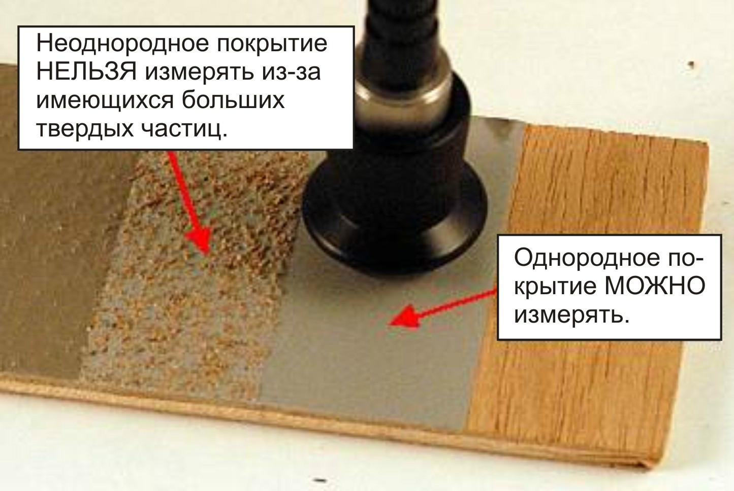 измерение толщины пленки