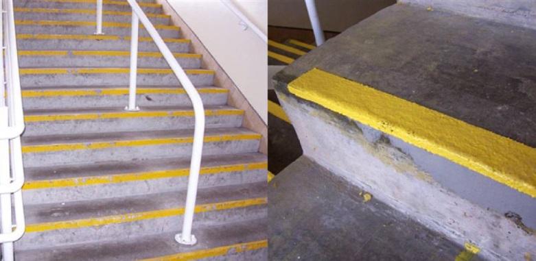 противоскользящие системы лестниц